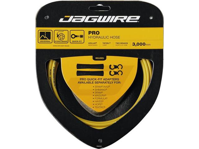 Jagwire Pro Hydraulic Câble de frein, yellow